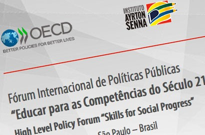 Fórum internacional | Educar para as Competências do Século 21