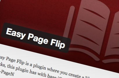 Easy Page Flip – Plugin WordPress